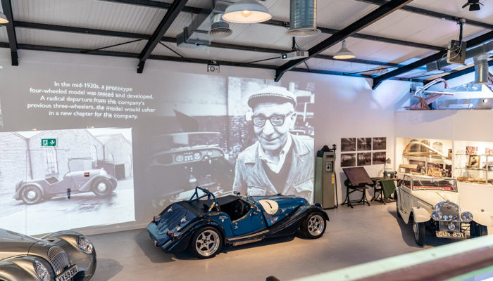 Morgan Motor abre un nuevo museo interactivo, The Archive Room
